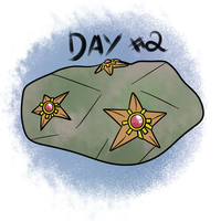 Pokecember Day #2 (favorite water) - Staryu by AmbrosiaDelish