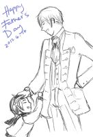 Happy Father's Day by whitewestie13