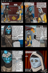 Destiny: A word with the Cryptarch by AkakuMasterOfFlight