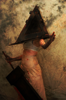 Female Pyramid Head by KissHerDeadBody