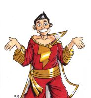 Billy Batson by TheRigger