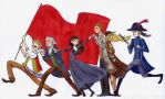 Les Mis in six characters by Starlene