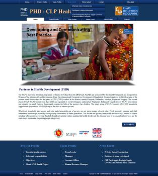 PHD CLP Website by qazinahin