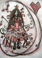 __The Queen of Hearts__ by Alice-fanclub