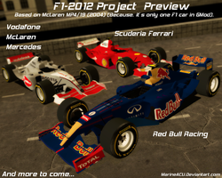 F1 2012 Project Preview by MarineACU