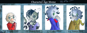 Character Meme Ages - Iris by NystagmusAlbino