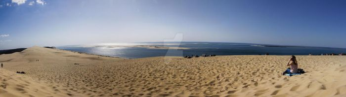 Panorama Dune of Pilat by Volgus