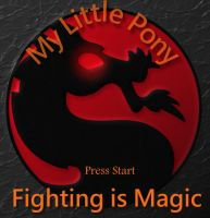 Fighting is Magic Start screen by Golden-Freddy-1337