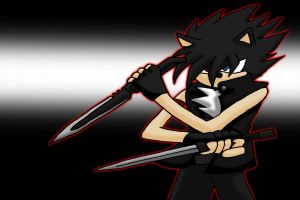 Blade The Hedgehog by Retzan