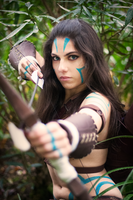 Woad Ashe - Aiming by EviiCosplay