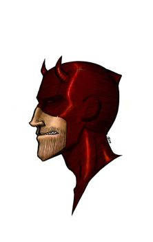 Bloody Nose: Daredevil by teraissa