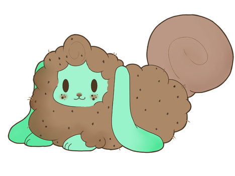 Dove Milk Chocolate Mint Cookie Flufferbun by pinksheepyunnie