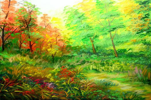 ACRYLIC PAINTING 23 PART 1 by beejay-artlife12