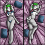 [Commission75] Dakimakura- style Ariel by izka-197