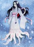 Yuki Onna Illustration by RGDopico