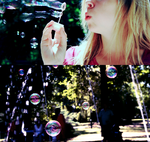 soap bubbles by dottedgirl
