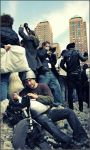 NYC pillow fight 2008 X by Tenshi-Ayane