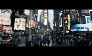 Rush hour at Times Square by cestnms