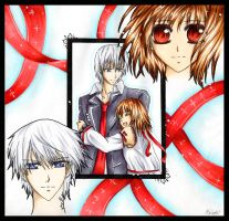 Vampire Knight birthdaycard by dorophant