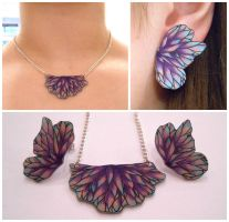 Butterfly jewelry by JuniperJewelry