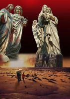 To see the Stone Angels of Vengeange walk by taisteng