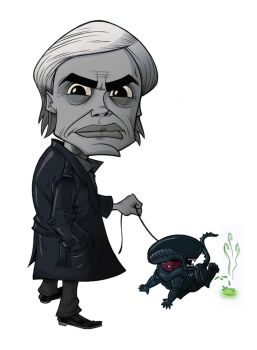 CARICATURES: H.R. GIGER by Zuccarello