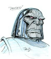 Darkseid by tombancroft