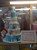 Frozen cake at the OC Fair! by Cartuneslover16