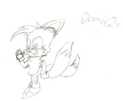Tails - First Attempt by abdiel3