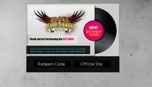 Black Country Communion Vinyl by mvgraphics