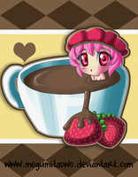 :Strawberries and Chocolate: by MeguBunnii
