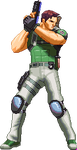 Chris Redfield Kof XIII style by Riklaionel
