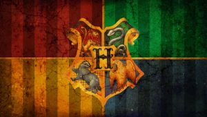 hogwarts crest grunge wallpape by Carvedincandy