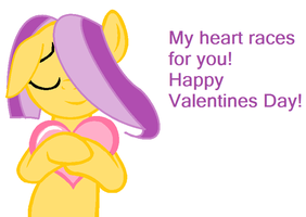 My heart races for you! by poseyangelo