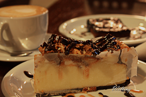 cheesecake snickers . . by W-ilting