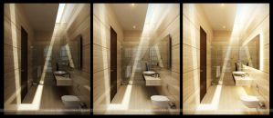sunrise_bathroom no.1 by kee3d