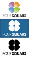 Four Squares Logo by xstortionist