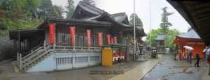 Boudhist temple in Mt Takao by stefmixo