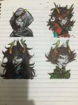 Signless, Redglare, Mindfang, Dolorosa by Danielle108