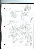 More kaiju concepts by Dinoboy134