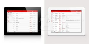 RedCRM-Mockup by cmgllp
