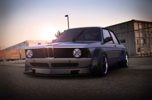 E21 DTM sunset by spittty