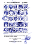 kimi 25 faces by pikminAAA