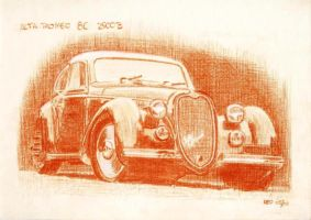 Alfa Romeo 8C 2900B by Leotrek