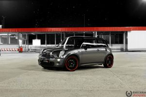 Mini Cooper S Lightpainting by DimitriBokowPhoto