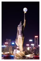 Avenue of Stars Statue by jawg1982
