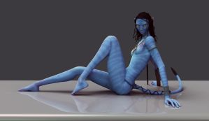 Neytiri - requested image by Fierox