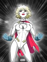 Power Girl by LucianoVecchio