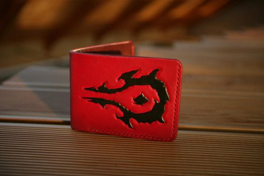 Horde bifold leather wallet by Arnakhat