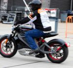 Me test riding  the Project LiveWire by Caveman1a